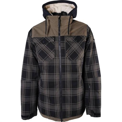 BRUNOTTI Bowen-Check Mens Snowjacket