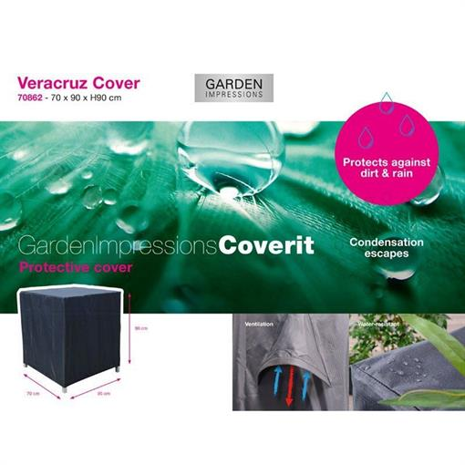 COVERIT Veracruz hoes 70x90xH90 2020