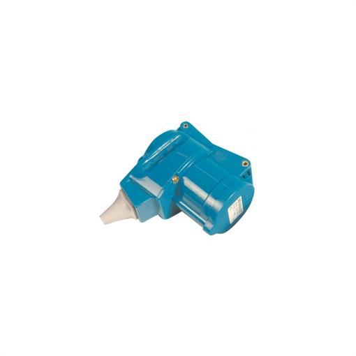 DWS Haakse koppeling CEE/Schuko 230 volt