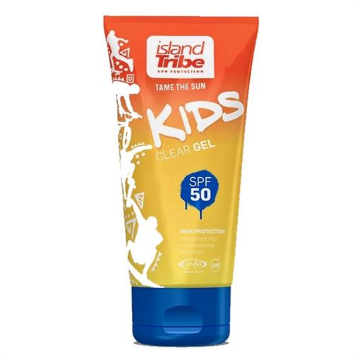 ISLAND TRIBE Kids SPF 50 Clear gel -