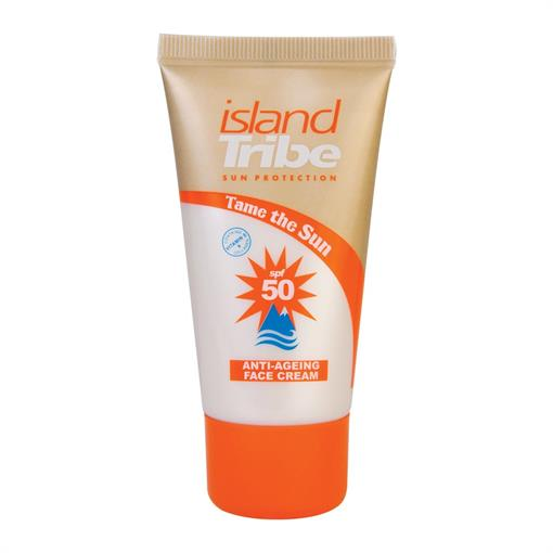 ISLAND TRIBE SPF 50 anti ageing face cream -