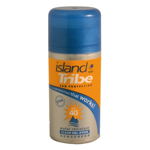 ISLAND TRIBE SPF 50 clear gel sun stick -