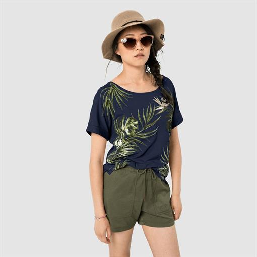 JACK WOLFSKIN TROPICAL LEAF T