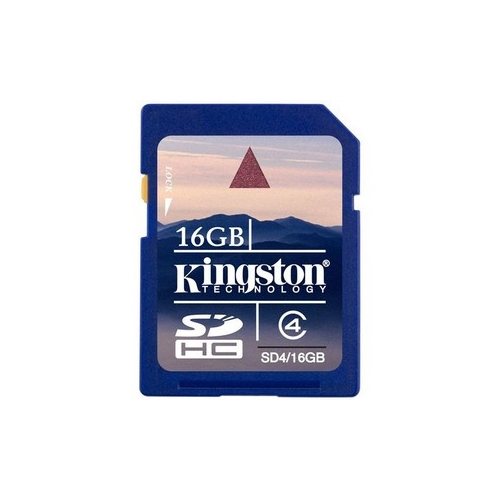 KINGSTON SDHC MEMORYCARD 16GB 2011