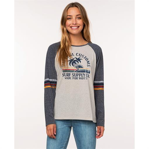 RIPCURL CUSTOMS LONG SLEEVE TEE