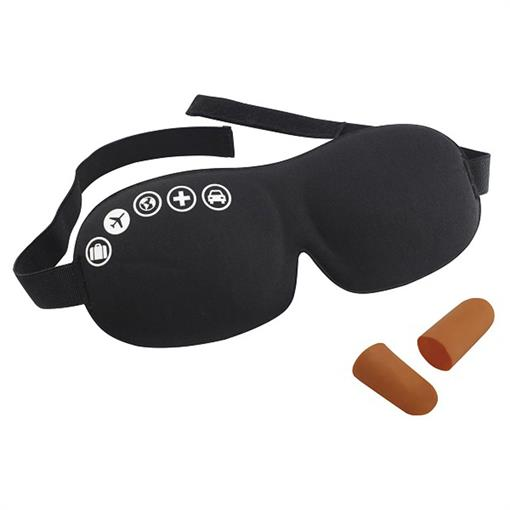 TRAVELSAFE FOAM EYEMASK/EARPLUGS 2019