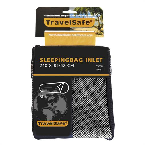 TRAVELSAFE Sleepingbag inlet silk MUMMY 2019