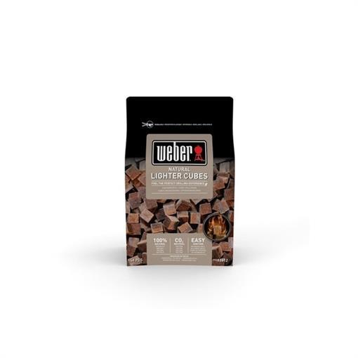 WEBER Aanmaakblokjes, bruin, ecologisch 2020