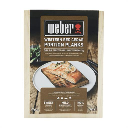 WEBER Western Red Cedar Wood Portion Planks